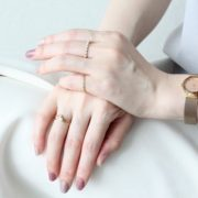 AUTUMN COLOR NAIL×RING COORDINATE